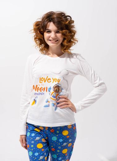 Katia & Bony Pijama Takım Ekru